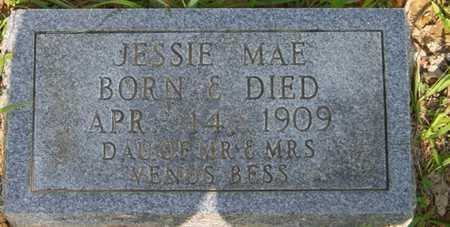 BESS, JESSIE MAE - Grundy County, Tennessee | JESSIE MAE BESS - Tennessee Gravestone Photos