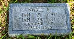 BESS, NOBLE E. - Grundy County, Tennessee | NOBLE E. BESS - Tennessee Gravestone Photos