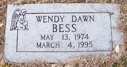 BESS, WENDY DAWN - Grundy County, Tennessee | WENDY DAWN BESS - Tennessee Gravestone Photos