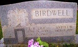 "BIRDWELL, E.W. ""LIGE"" - Grundy County, Tennessee | E.W. ""LIGE"" BIRDWELL - Tennessee Gravestone Photos"