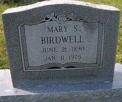 BIRDWELL, MARY S. - Grundy County, Tennessee | MARY S. BIRDWELL - Tennessee Gravestone Photos
