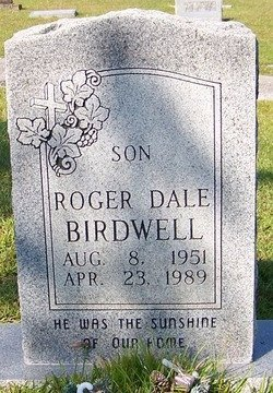 BIRDWELL, ROGER DALE - Grundy County, Tennessee   ROGER DALE BIRDWELL - Tennessee Gravestone Photos