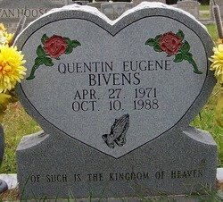 BIVENS, QUENTIN EUGENE - Grundy County, Tennessee | QUENTIN EUGENE BIVENS - Tennessee Gravestone Photos