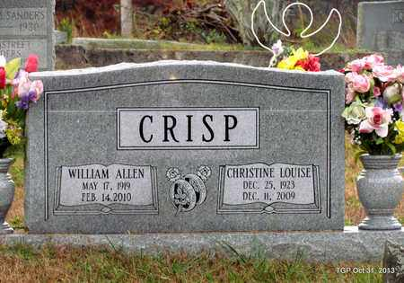 CRISP, CHRISTINE LOUISE - Grundy County, Tennessee   CHRISTINE LOUISE CRISP - Tennessee Gravestone Photos