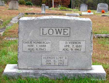 LOWE, EMILIE - Grundy County, Tennessee | EMILIE LOWE - Tennessee Gravestone Photos