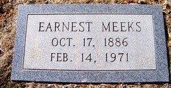MEEKS, EARNEST - Grundy County, Tennessee | EARNEST MEEKS - Tennessee Gravestone Photos