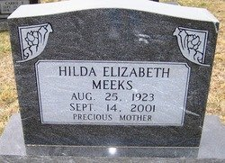 MEEKS, HILDA ELIZABETH - Grundy County, Tennessee | HILDA ELIZABETH MEEKS - Tennessee Gravestone Photos