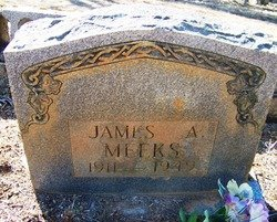 MEEKS, JAMES A. - Grundy County, Tennessee | JAMES A. MEEKS - Tennessee Gravestone Photos