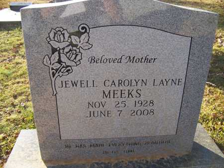 MEEKS, JEWELL CAROLYN - Grundy County, Tennessee   JEWELL CAROLYN MEEKS - Tennessee Gravestone Photos