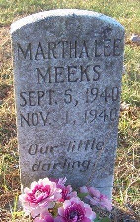 MEEKS, MARTHA LEE - Grundy County, Tennessee | MARTHA LEE MEEKS - Tennessee Gravestone Photos