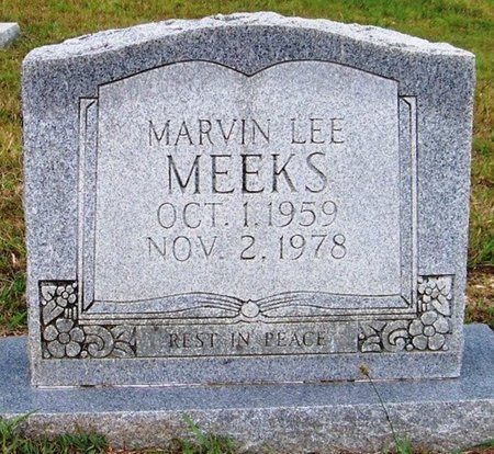 MEEKS, MARVIN LEE - Grundy County, Tennessee | MARVIN LEE MEEKS - Tennessee Gravestone Photos