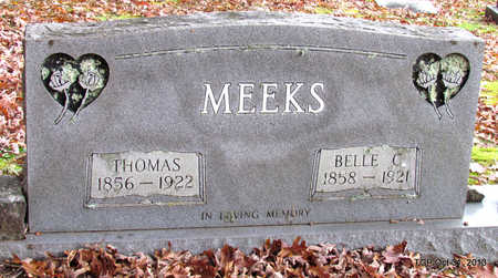 MEEKS, BELLE C. - Grundy County, Tennessee | BELLE C. MEEKS - Tennessee Gravestone Photos