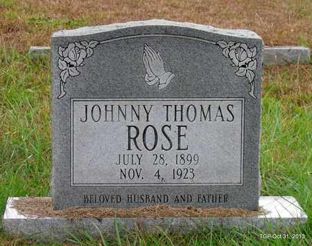 ROSE, JOHNNY THOMAS - Grundy County, Tennessee | JOHNNY THOMAS ROSE - Tennessee Gravestone Photos