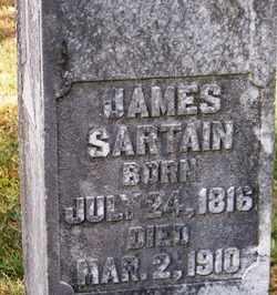 SARTAIN, JAMES - Grundy County, Tennessee | JAMES SARTAIN - Tennessee Gravestone Photos
