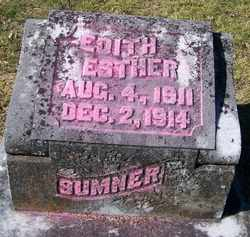 SUMNER, EDITH ESTHER - Grundy County, Tennessee | EDITH ESTHER SUMNER - Tennessee Gravestone Photos