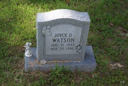 WATSON, JOYCE D. - Grundy County, Tennessee   JOYCE D. WATSON - Tennessee Gravestone Photos