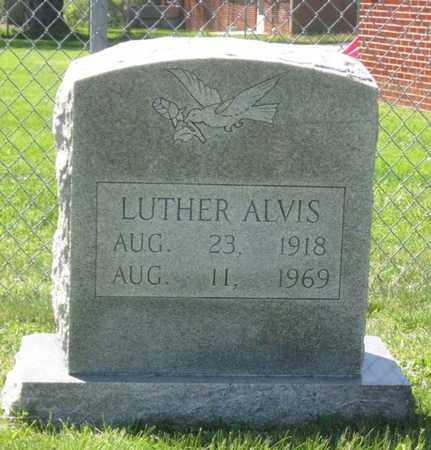 ALVIS, LUTHER - Hamblen County, Tennessee   LUTHER ALVIS - Tennessee Gravestone Photos