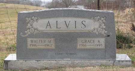 ALVIS, WALTER M. - Hamblen County, Tennessee | WALTER M. ALVIS - Tennessee Gravestone Photos