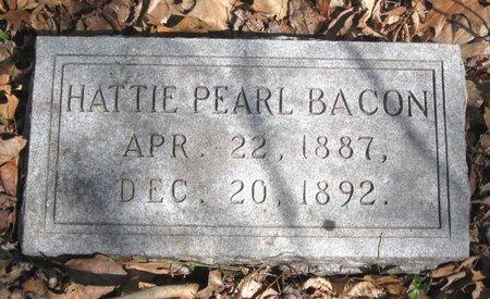 BACON, HATTIE PEARL - Hamblen County, Tennessee | HATTIE PEARL BACON - Tennessee Gravestone Photos