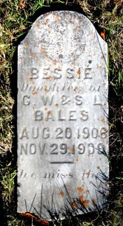BALES, BESSIE - Hamblen County, Tennessee | BESSIE BALES - Tennessee Gravestone Photos