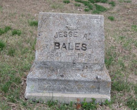 BALES, JESSE A. - Hamblen County, Tennessee | JESSE A. BALES - Tennessee Gravestone Photos