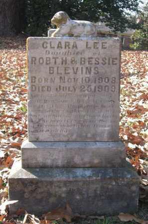 BLEVINS, CLARA LEE - Hamblen County, Tennessee   CLARA LEE BLEVINS - Tennessee Gravestone Photos