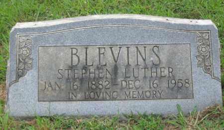 BLEVINS, STEPHEN LUTHER - Hamblen County, Tennessee | STEPHEN LUTHER BLEVINS - Tennessee Gravestone Photos