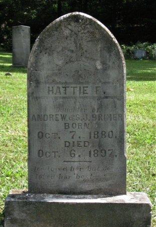BRIMER, HATTIE F. - Hamblen County, Tennessee | HATTIE F. BRIMER - Tennessee Gravestone Photos