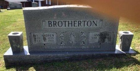 BROTHERTON (REV.), ANDREW - Hamblen County, Tennessee | ANDREW BROTHERTON (REV.) - Tennessee Gravestone Photos