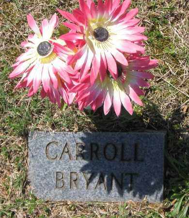 BRYANT, CARROLL - Hamblen County, Tennessee | CARROLL BRYANT - Tennessee Gravestone Photos