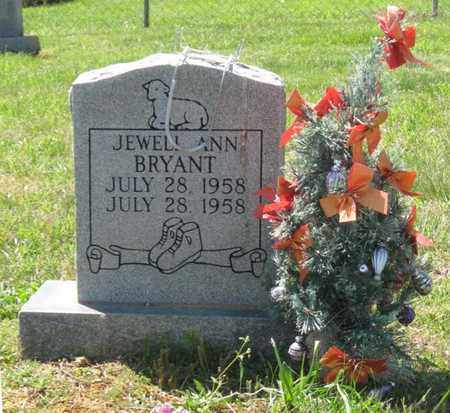 BRYANT, JEWELL ANN - Hamblen County, Tennessee | JEWELL ANN BRYANT - Tennessee Gravestone Photos