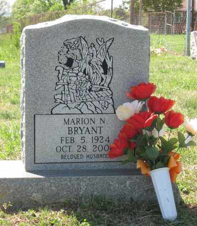 BRYANT, MARION N. - Hamblen County, Tennessee | MARION N. BRYANT - Tennessee Gravestone Photos