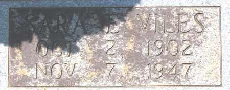 VILES BRYANT, SARA E. - Hamblen County, Tennessee | SARA E. VILES BRYANT - Tennessee Gravestone Photos