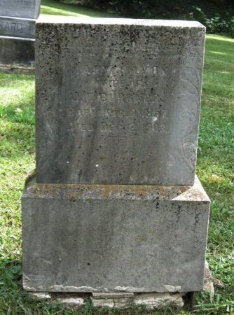 BURGNER, MARY E. - Hamblen County, Tennessee | MARY E. BURGNER - Tennessee Gravestone Photos
