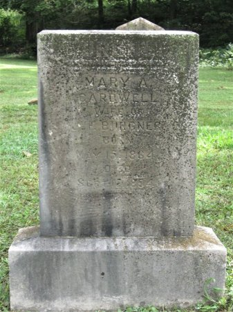 BURGNER, MARY A. - Hamblen County, Tennessee | MARY A. BURGNER - Tennessee Gravestone Photos