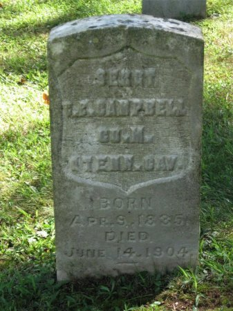 CAMPBELL.OLD (VETERAN UNION &, CHARLES B. - Hamblen County, Tennessee   CHARLES B. CAMPBELL.OLD (VETERAN UNION & - Tennessee Gravestone Photos