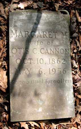 CANNON, MARGARET M. - Hamblen County, Tennessee | MARGARET M. CANNON - Tennessee Gravestone Photos
