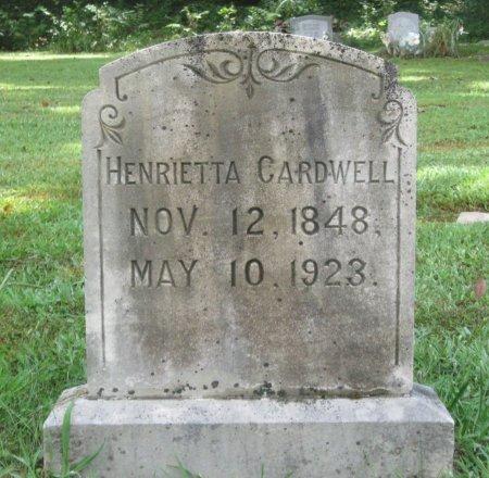 CARDWELL, HENRIETTA - Hamblen County, Tennessee | HENRIETTA CARDWELL - Tennessee Gravestone Photos