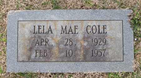 COLE, LELA MAE - Hamblen County, Tennessee | LELA MAE COLE - Tennessee Gravestone Photos