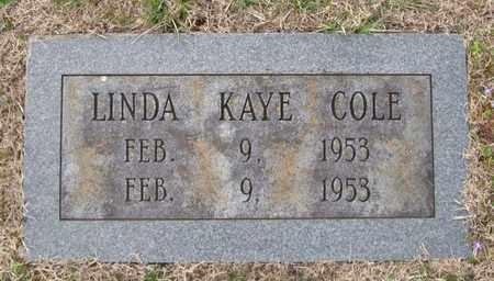 COLE, LINDA KAYE - Hamblen County, Tennessee | LINDA KAYE COLE - Tennessee Gravestone Photos