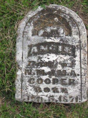 COOPER, ANGIE (TOP OF STONE) - Hamblen County, Tennessee | ANGIE (TOP OF STONE) COOPER - Tennessee Gravestone Photos