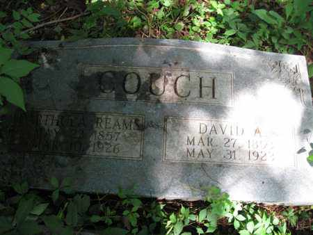 COUCH, DAVID A. - Hamblen County, Tennessee | DAVID A. COUCH - Tennessee Gravestone Photos
