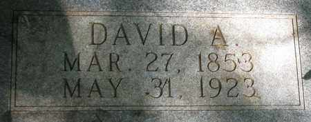COUCH, DAVID A.  (CLOSE UP) - Hamblen County, Tennessee | DAVID A.  (CLOSE UP) COUCH - Tennessee Gravestone Photos