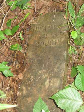 COUCH, INFANT - Hamblen County, Tennessee   INFANT COUCH - Tennessee Gravestone Photos