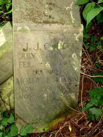 MANN COUCH, MOLLIE E. (CLOSE UP) - Hamblen County, Tennessee | MOLLIE E. (CLOSE UP) MANN COUCH - Tennessee Gravestone Photos