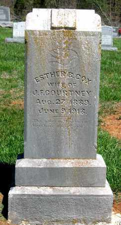 COURTNEY, ESTHER B. - Hamblen County, Tennessee | ESTHER B. COURTNEY - Tennessee Gravestone Photos