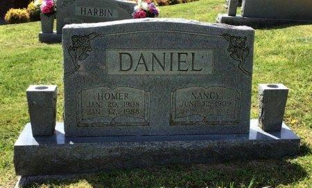 DANIEL, HOMER - Hamblen County, Tennessee | HOMER DANIEL - Tennessee Gravestone Photos