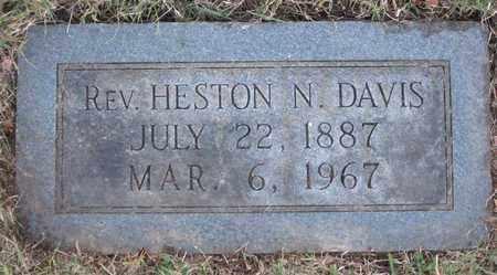 DAVIS, HESTON N. (REV.) - Hamblen County, Tennessee | HESTON N. (REV.) DAVIS - Tennessee Gravestone Photos