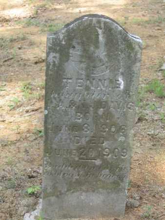 DAVIS, TENNIE - Hamblen County, Tennessee | TENNIE DAVIS - Tennessee Gravestone Photos