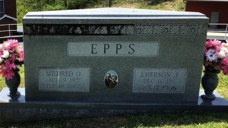 EPPS, MILDRED O. - Hamblen County, Tennessee | MILDRED O. EPPS - Tennessee Gravestone Photos